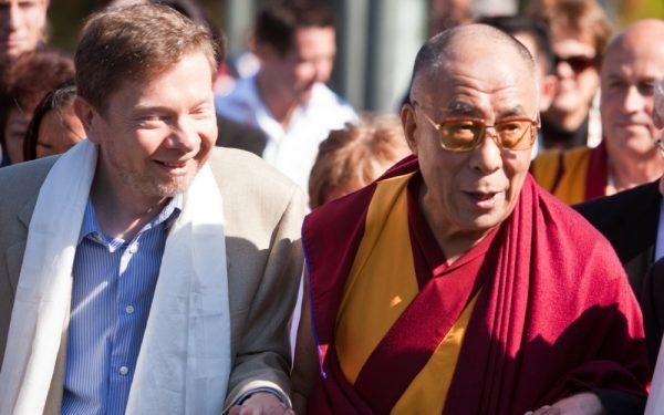 Eckhart Tolle en Dalai Lama
