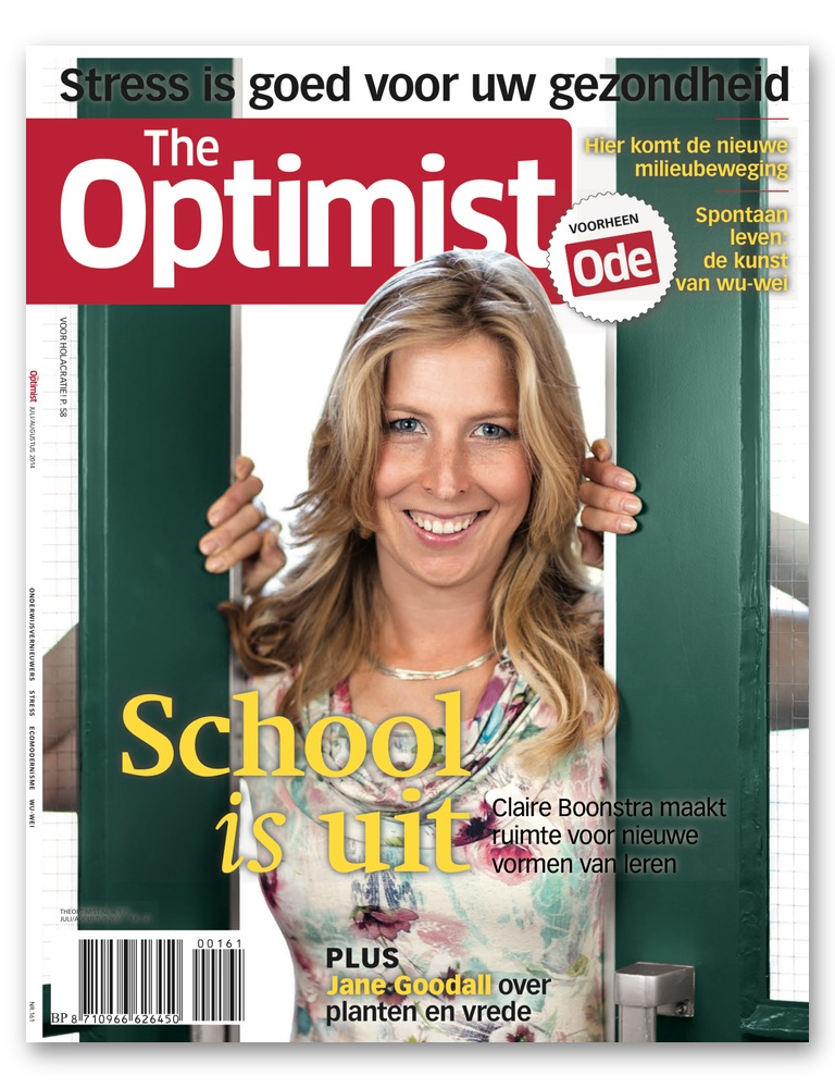 The Optimist editie 161 juli-augustus 2014
