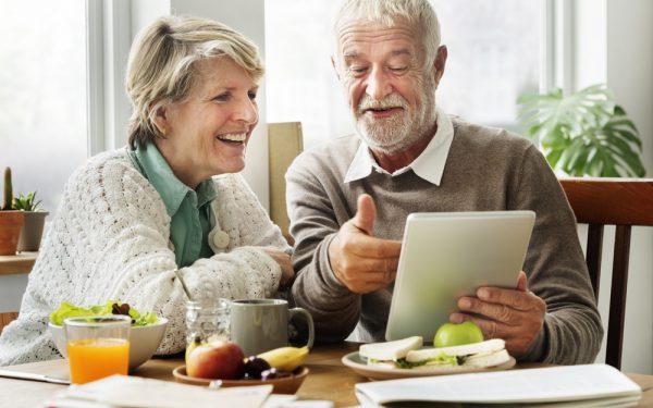 ouderen social media