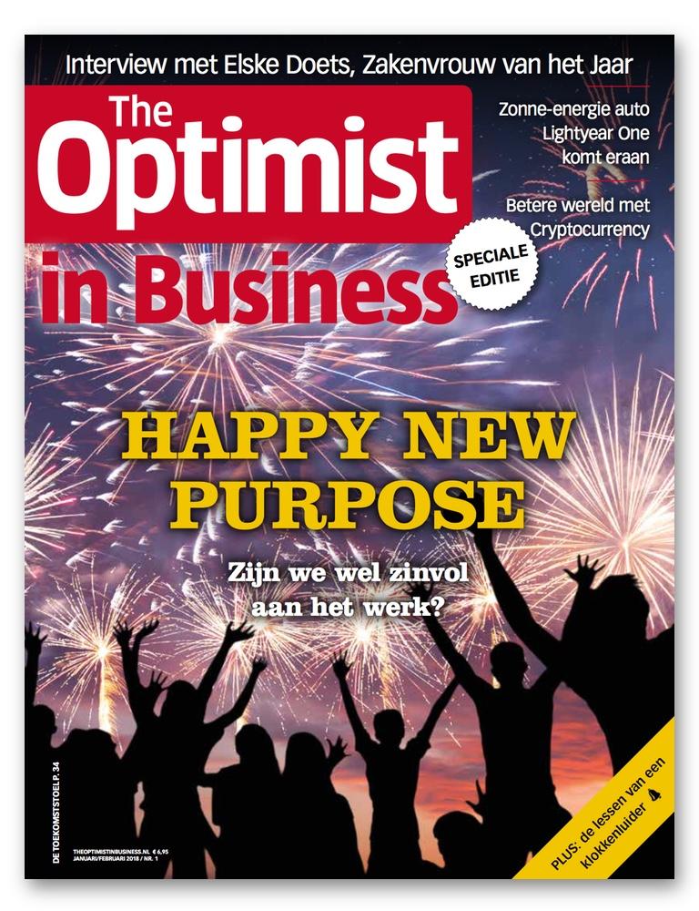 The Optimist in Business magazine (#001)