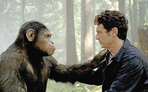 Die apenplaneet is zo gek nog niet