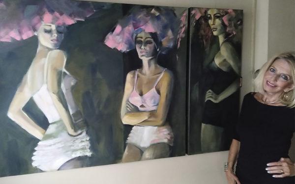 Ellie Fokkinga: met zestig jaar naar de kunstacademie
