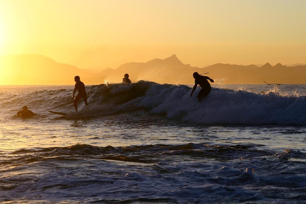 Surfen als therapie