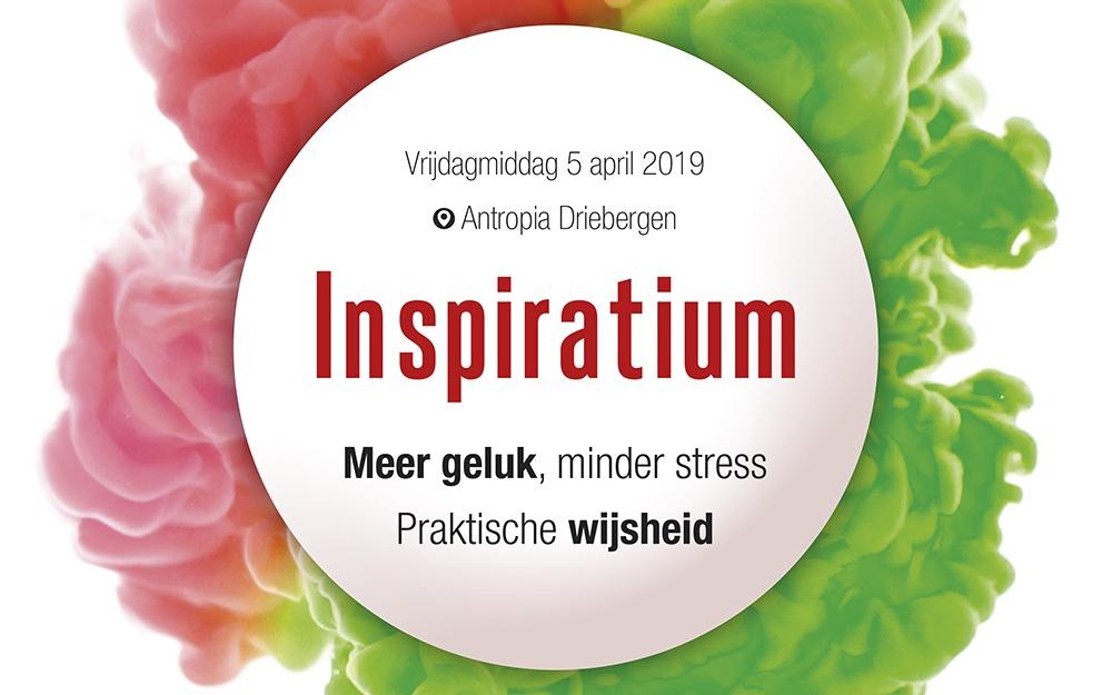 Uitgeverij The Optimist en Sublime organiseren: Inspiratium
