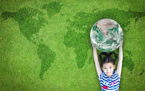 Duurzame les van kinderen