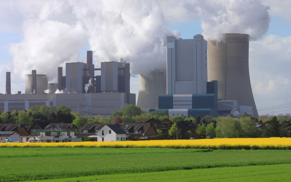 Duitse energie van bruin naar groen