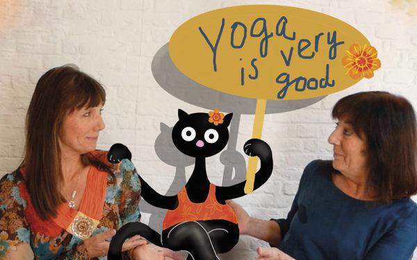 Yoga als poezenlichtvoetige levensfilosofie