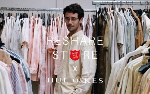 Modeontwerper Sjaak Hullekes en Leger des Heils geven kleding nieuwe kans