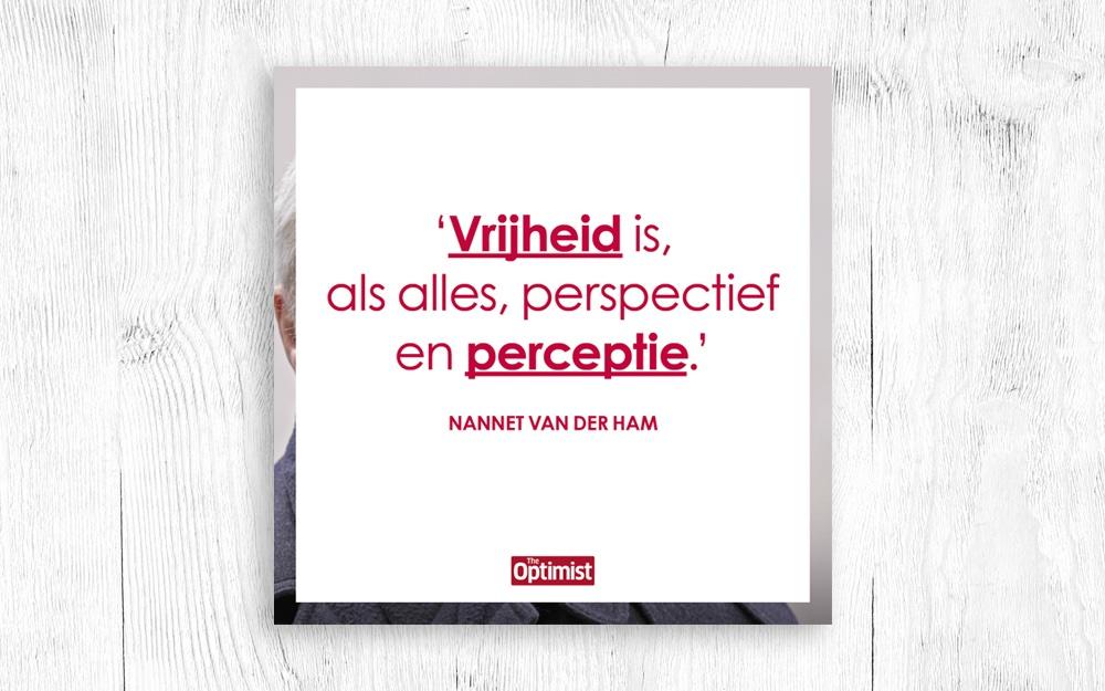 Podcast: Nannet van der Ham over Vrijheid