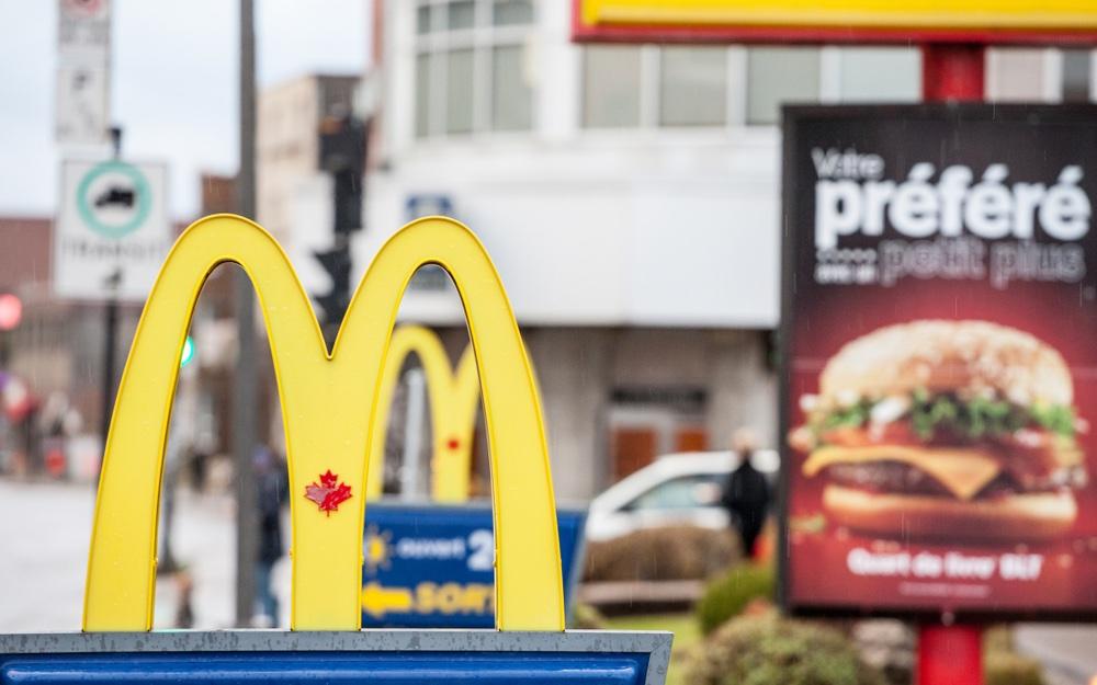 McDonald's breidt test met veganburger in Canada uit