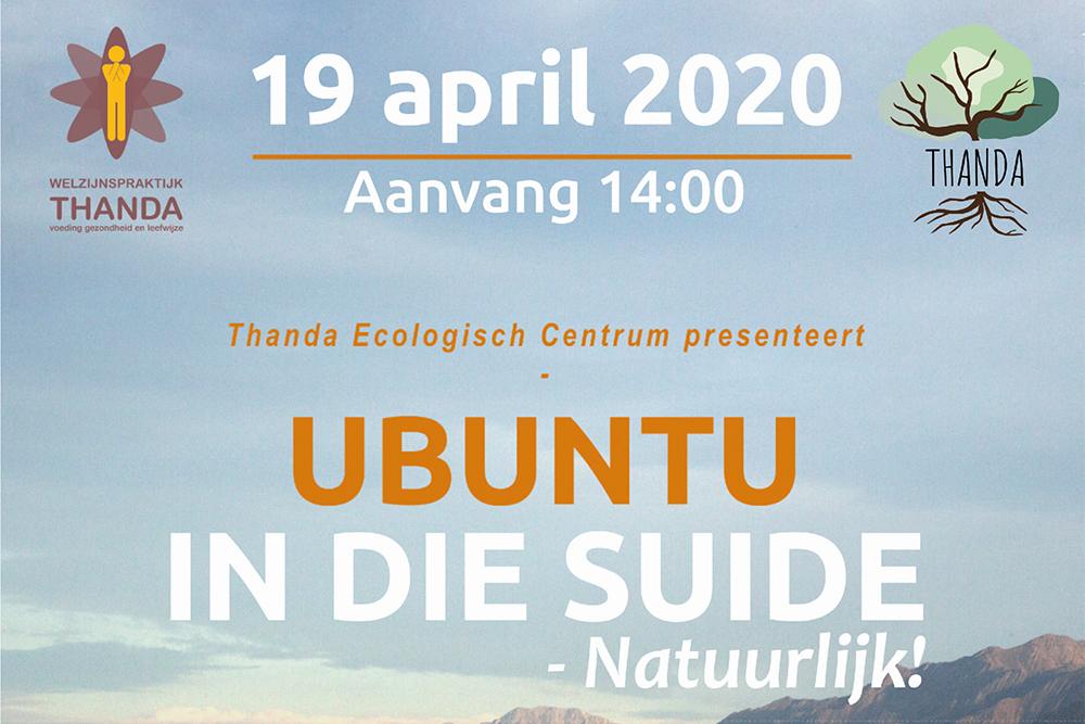 Ubuntu in die Suide, Natuurlijk!
