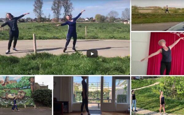 Zien: balletleerlingen geven prachtige digitale voorstelling