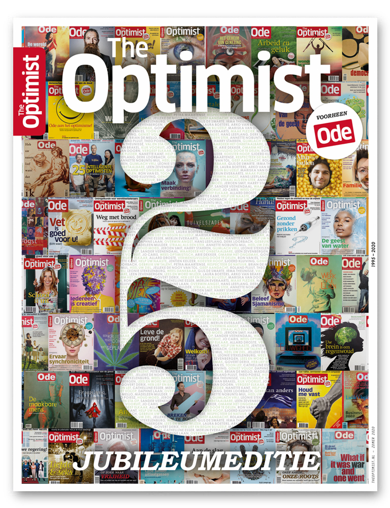 Jubileumeditie The Optimist magazine
