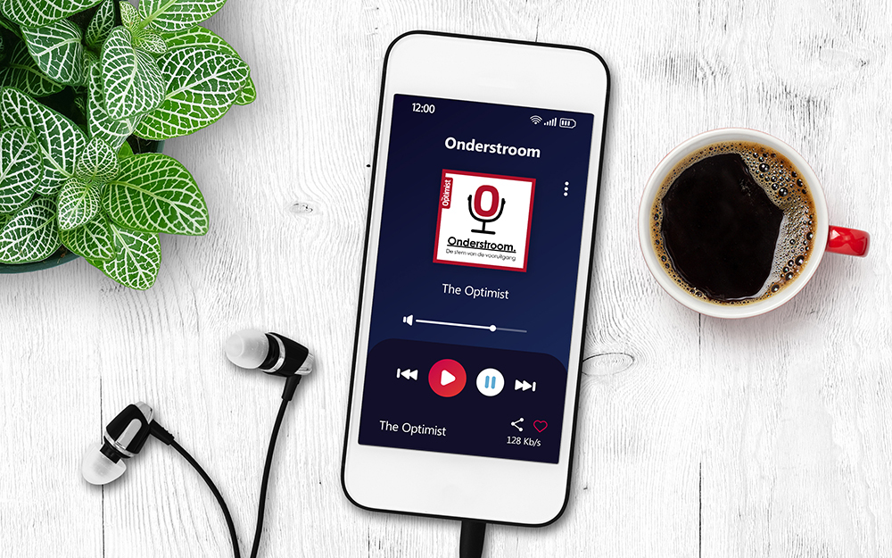 Aflevering 3 van The Optimist podcast met Yolanda Eijgenstein