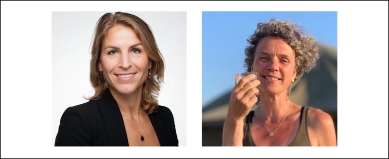Madeleen Mulder en Marianne Zuur